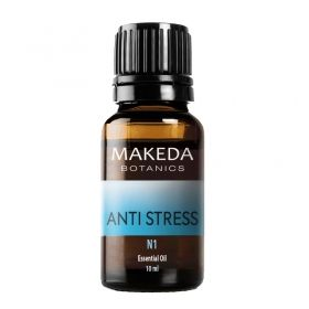 Композиция етерични масла при стрес Makeda Botanics Anti stress N1 10 мл.