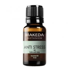 Композиция етерични масла при стрес Makeda Botanics Anti stress N2 10 мл.